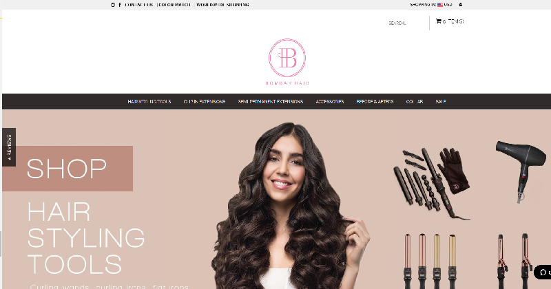 reviewing bombay hair extensions