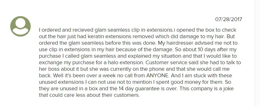 glam extensions reviews