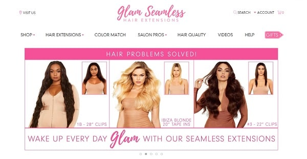 reviewing glam seamless hair extensions